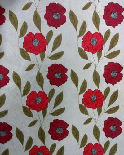 Detalhes do produto Tecido Suede Estampado Flores
