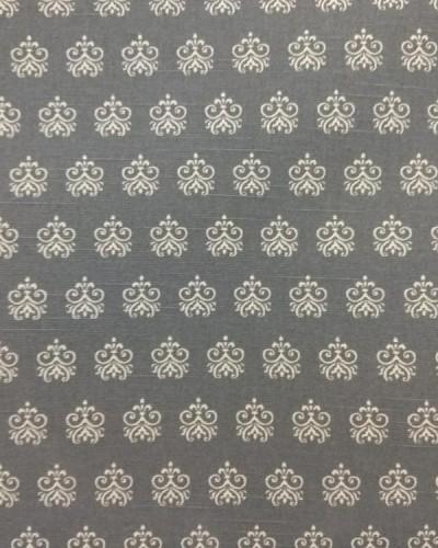 Detalhes do produto Tecido Fiama Coroa Cinza