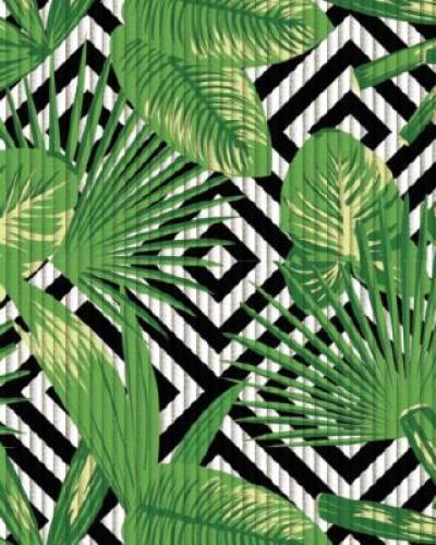 Detalhes do produto Passadeira Jardim Abstrato