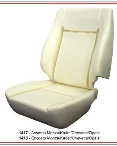 Detalhes do produto Assento e Encosto P/ Monza/ Kadet/ Chevette e Opala
