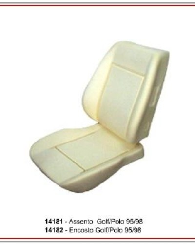 Detalhes do produto Assento e Encosto P/ Golf/Polo 95/98